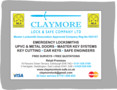 Image 7 for Claymore Lock and Safe Company Ltd