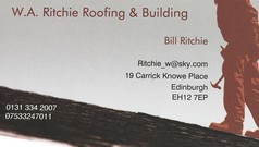 W. A. Ritchie roofing & building