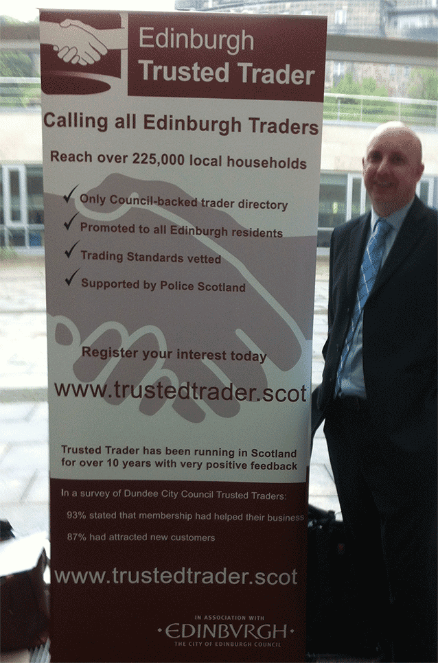 Trusted Trader at the Meet the Buyer event, Waverley Court