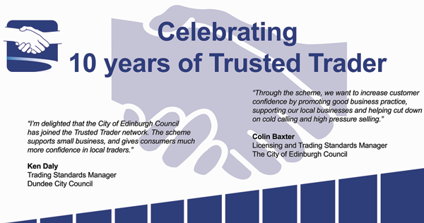 10 Years of Trusted Trader 2005 - 2015