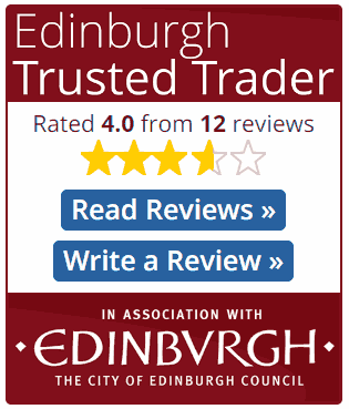 Trusted Trader review widget large but no reviews