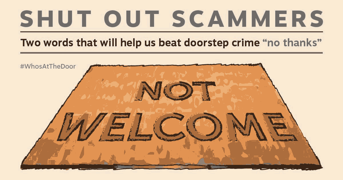 Shut Out Scammers - Beat Doorstep Crime