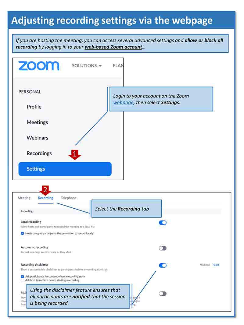 NPCC Advice on securing Zoom